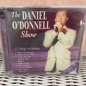 THE DANIEL O'DONNELL SHOW.  2 CDs.  LIVE. USED.